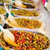 Stuffed olives Royalty Free Stock Photos