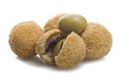 Stuffed olives Stock Image