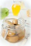 Stuffed olives Royalty Free Stock Image