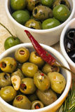 Stuffed Olives Stock Image