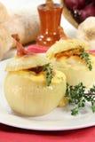 Stuffed onions Stock Photo