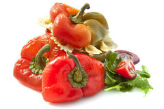 Stuffed Paprika Royalty Free Stock Images