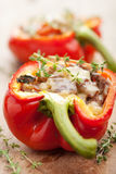 Stuffed paprika with meat and vegetables Royalty Free Stock Image
