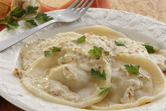 Stuffed pasta, Sorrentini Stock Images