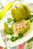 Stuffed pepper Stock Image