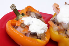 Stuffed pepper Stock Photography