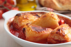 Stuffed pepper Royalty Free Stock Photography
