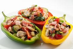 Stuffed pepper with meat Stock Photography