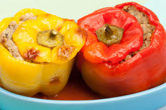 Stuffed pepper. Stock Photography