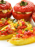 Stuffed peppers Royalty Free Stock Photos