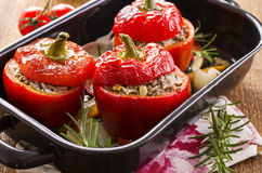 Stuffed Peppers Stock Image