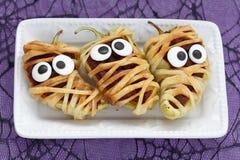 Stuffed peppers look like a mummies Stock Image
