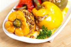 Stuffed peppers Royalty Free Stock Photography