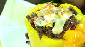 Stuffed Peppers (seamless loopable) Royalty Free Stock Images
