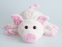 Stuffed pink piggy Royalty Free Stock Images