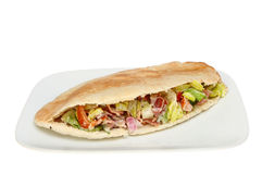 Stuffed pitta Royalty Free Stock Photography