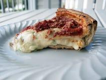 Stuffed Pizza Stock Photography