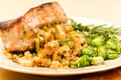 Stuffed Pork Chop Stock Image