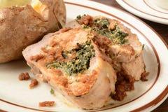 Stuffed pork roast Stock Images