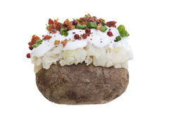 Stuffed Potato Royalty Free Stock Photos