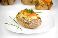 Stuffed potatoes Stock Photos