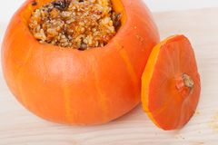 Stuffed pumpkin Stock Photos