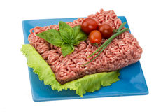 Stuffed raw meat Royalty Free Stock Photo