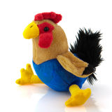 Stuffed rooster Royalty Free Stock Photos