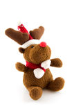 Stuffed rudolph reindeer Stock Images
