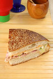 Stuffed sandwich Stock Images