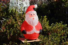 Stuffed santa Royalty Free Stock Photography