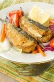 Stuffed Sardines Stock Image