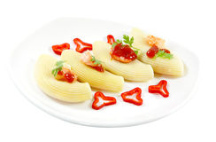 Stuffed Shell Pasta Royalty Free Stock Image