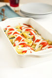 Stuffed Shells Stock Photo