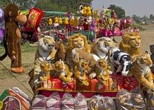 Stuffed Soft Toys Royalty Free Stock Photos