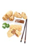 Stuffed Spring rolls Stock Image