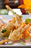 Stuffed squash blossoms Stock Image