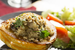 Stuffed Squash Meal Stock Images