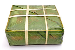 Stuffed sticky rice cake Royalty Free Stock Photography