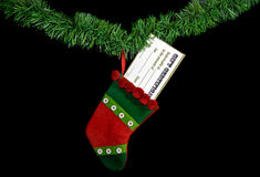 Stuffed Stocking Stock Images
