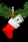 Stuffed Stocking Stock Image