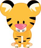 Stuffed Tiger Stock Image