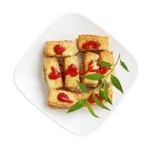 Stuffed Tofu Royalty Free Stock Images