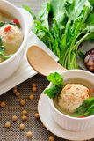 Stuffed Tofu Ball Stock Photography