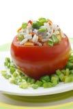 Stuffed tomato. Stock Photos