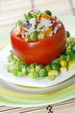 Stuffed tomato. Royalty Free Stock Photos