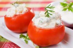 Stuffed tomato Stock Image