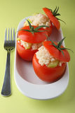 Stuffed tomato Royalty Free Stock Images