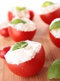 Stuffed tomato Royalty Free Stock Photos