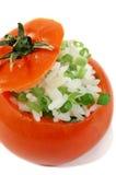 Stuffed Tomato 3 stock image
